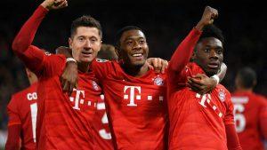 Bayern Munich-Davies y Lewandowski