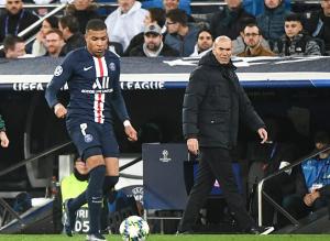 Mbappe y Zidane