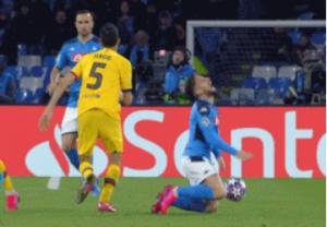 Napoli 1-1 Barcelona