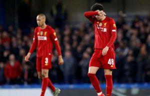 livepool 0-3 Chelsea